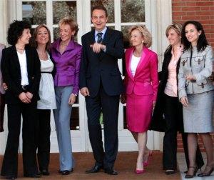 las-ministras-de-la-segunda-legislatura-zp