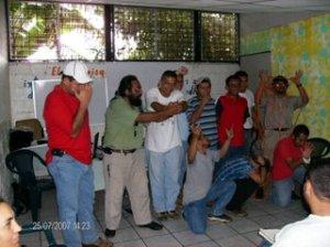 Taller de Masculinidad en El Salvador