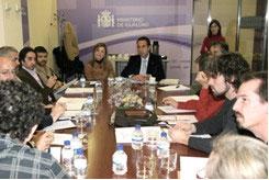 Reunión del dia 15.12.08 en el Ministerio