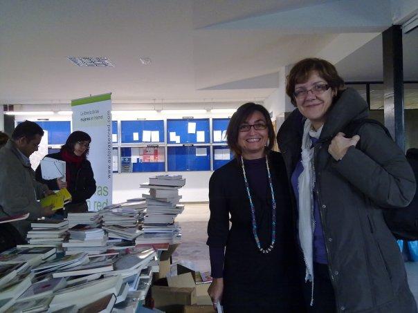 Autoras en Red y Maria José de Ciudad de Mujeres