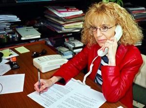La profesora Purificación Mayobre, una de las principales académicas del feminismo en Galicia