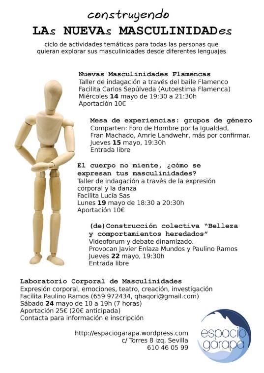 flyer del evento de espacio garapa